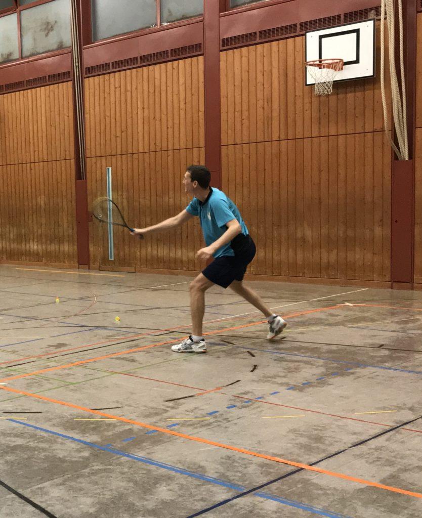 Training Speeders Zürich Crossminton Spieler